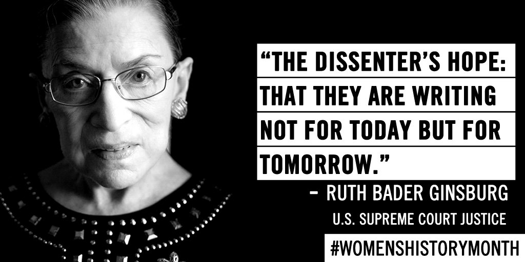 Ruth Bader Ginsburg Quotes | 6 Amazing Ruth Bader Ginsburg Quotes To Celebrate This Badass