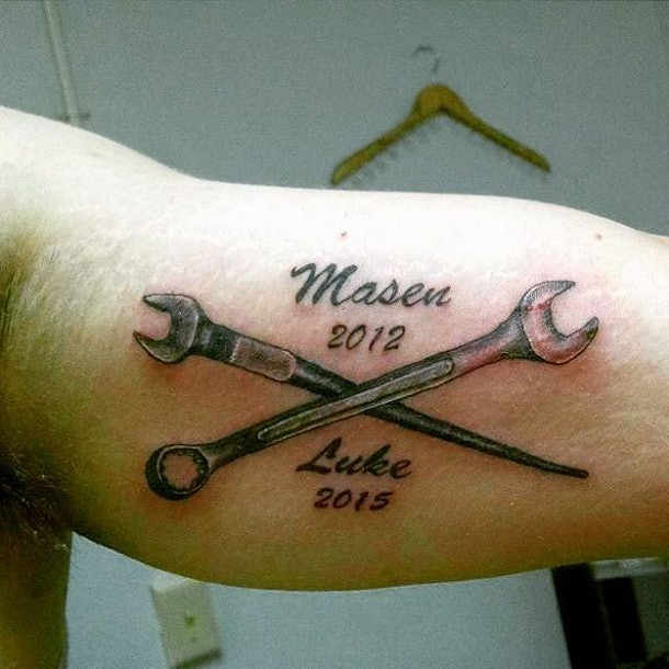 15 Cool Tattoos For Dads That Will Give You Ink Inspiration